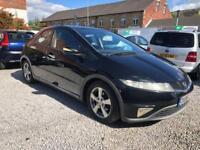 Honda Civic 2.2i-CTDi ES 5 Doors Hatchback in Black Diesel