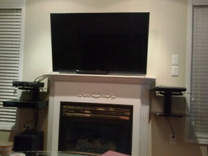 Only $50 for TV installation any wall LCD LED. wall mount TV  gu