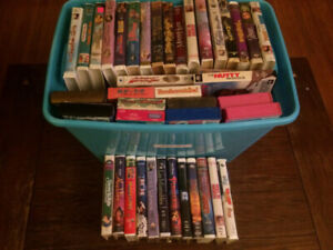 Disney and Kids VHS Movies