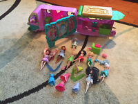Disney Fairies Camper and Dolls