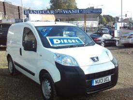 Peugeot Bipper HDI S £3995+ VAT