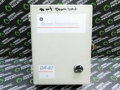 Used General Electric Dr-87 Electronic Demand Recorder 733x021g106 Version 1120