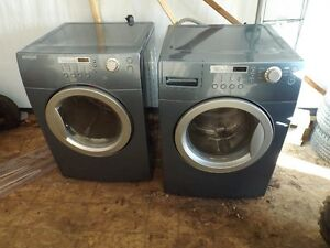 samsung brada front load washer and dryer