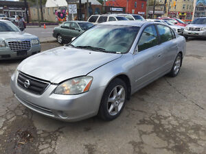 """2003 Nissan Altima Sedan with """"Brand new Safety"""""""