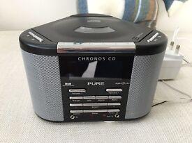 PURE Chronos CD player and DAB radio