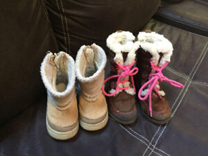 Girls toddler boots size 7