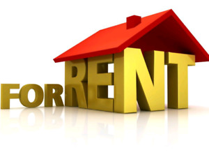 Looking for house to rent for april 30th 2019