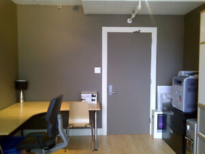 Furnished office space - wifi and utilities included