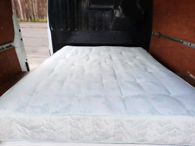 Clean double mattress (delivery available