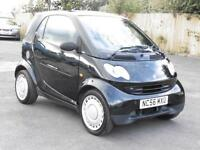 Smart Smart 0.7, Fortwo Pure, Black, 2006, 67 000 Miles, 6 Month AA Warrany