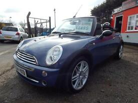 2004 Mini Convertible 1.6 One 2dr 12 months mot, Warranty 2 door Convertible