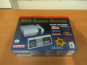 Brand New Unopened NES Nintendo Classic Edition System