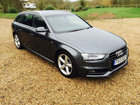 2013 Audi A4 Avant 2.0TDISORRY NOW SOLD BUT PLEASE ASK AS WE MAY HAVE ANOTHER!!!