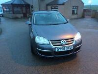 2007 56 Volkswagen Jetta SE 105 1.9TDi Diesel Grey 4 Door.
