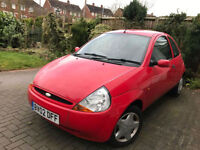 2002 FORD KA 1.3 STYLE LOW 72,000 MILES * CHEAP PART EXCHANGE TO CLEAR *