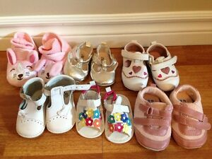 Assorted baby Girl Shoes size 1