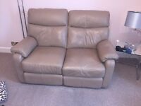 Martin and Frost Mink Recliner Sofas