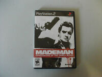 Mademan confessions of the family blood game for PS2