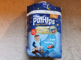 Huggies night-time Pull Ups nappies