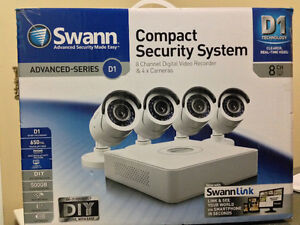 Swann Pro 4 Security Cameras DVR