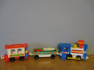 Train  Fisher Price  Express   «2581»Vintage