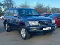 2003 Toyota LAND CRUISER AMAZON 4.2 TD 5dr Auto SUV Diesel Automatic