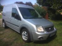2010 Ford Transit Connect 1.8TDCi ( 110PS ) H/Roof T230 LWB Limited Silver