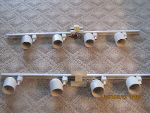 4 Light Linear Track Kit- white