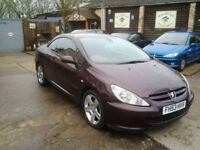 Peugeot 307 CC 2.0 16v 180 Coupe 2003MY