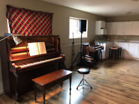 Piano, Guitar and Music theory lessons.