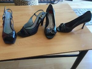 Two size 6 leather shoes