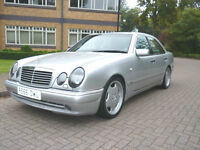 SOLD NOW 1998 Mercedes-Benz E 50 AMG Left hand drive LHD UK Registered