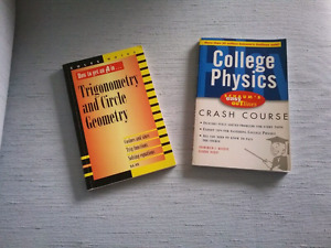 College physics and Trig and Circle Geometry