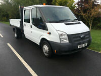 2013 13 FORD TRANSIT TIPPER 2.2TDCi 125BHP EURO 5 350 LWB ONLY 35000 MILES