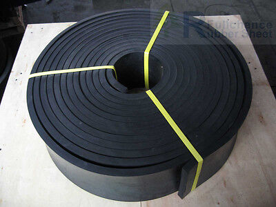 "1/4"" x 4"" RUBBER SKIRTBOARD FOR CONVEYOR BELTS"