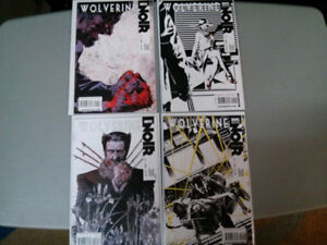 Marvel comic lot of 4 Wolverine Noir complete 1-4 series $10