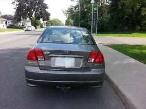 2005 Honda Civic SE Berline Manual with new engine for 150000 Km