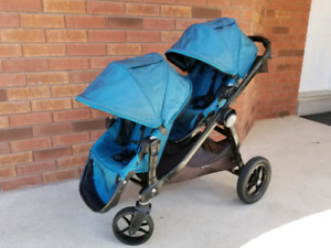 Baby jogger city select double stroller bought 2016