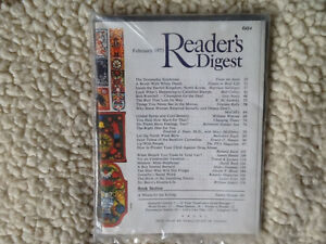 Vintage Reader's Digest magazine February 1973
