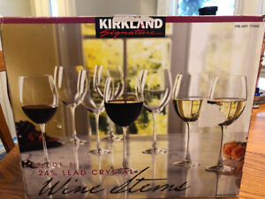 Kirkland Signature 26 oz. Wine Glasses - Set of 8