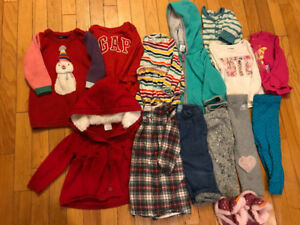 Toddler girl clothes lot, size 18 month