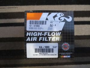 K@N Air Filter Kawasaki Z750-Z1000 Part # KA-1003.