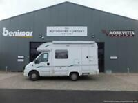 Bessacarr E410 Two berth motorhome for sale
