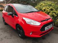 FORD B-MAX ZETEC RED EDITION 2016 Petrol Manual in Red