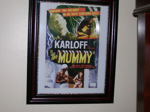 The Mummy - Boris Karloff, 1932 Movie Poster - Framed Print! West Island Greater Montréal image 1