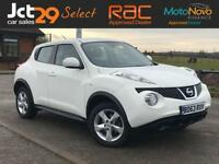 2013 63 NISSAN JUKE 1.6 VISIA (VAT QUALIFYING) ONE OWNER FROM NEW