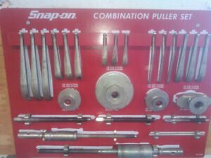 Snap on pully puller set
