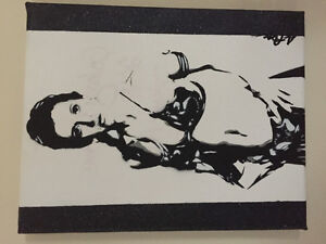 Galaxy princess stencil signed by artist Jessica Pope West Island Greater Montréal image 1