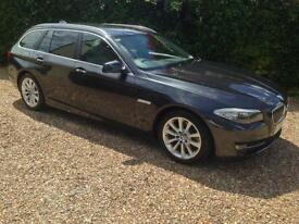 BMW 5 SERIES 520D SE TOURING, Grey, Auto, Diesel, 2010 60 plate