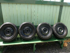 195/65/R15 MOTOMASTER TIRES ON PONTIAC SUNFIRE RIMS